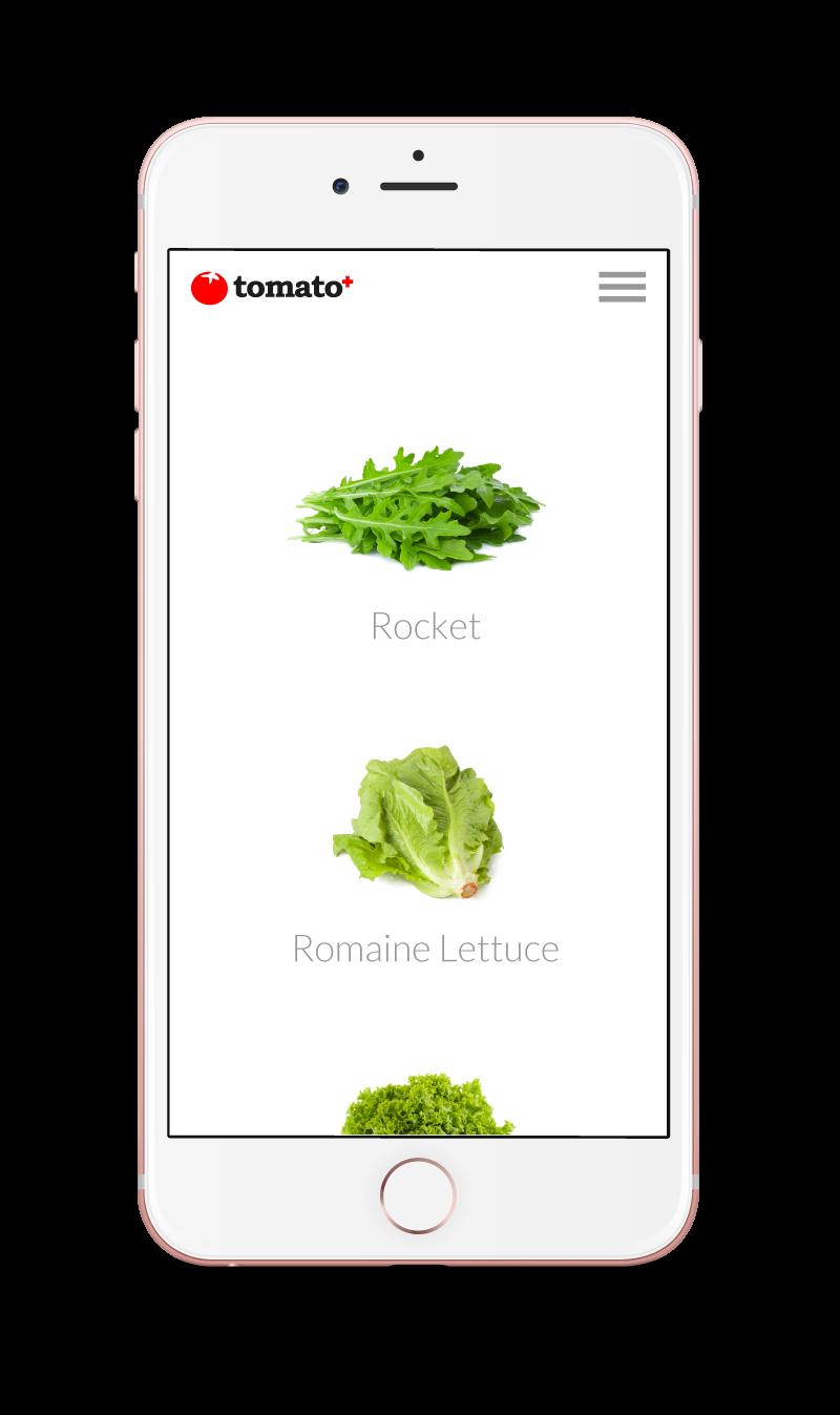 Tomato+ Iphone